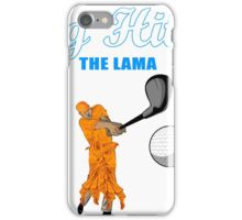 Big Hitter the Lama - Caddyshack iPhone Case/Skin