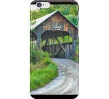Coburn Covered Bridge iPhone Case/Skin