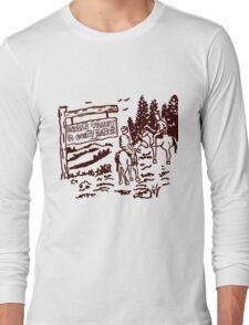 STRANGER THINGS - Dustin's Grass Valley Shirt - the original Long Sleeve T-Shirt