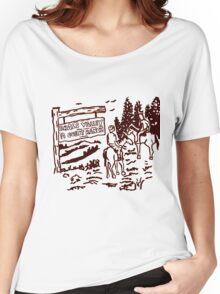 STRANGER THINGS - Dustin's Grass Valley Shirt - the original Women's Relaxed Fit T-Shirt