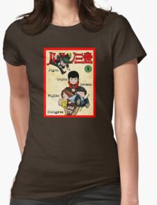 Vintage Lupin Comics Womens Fitted T-Shirt