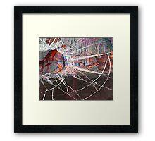 abstractshot Framed Print