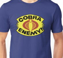 G.I. JOE BLISTER -  COBRA ENEMY! Unisex T-Shirt