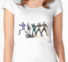 kamen rider evolution Women's Fitted Scoop T-Shirt