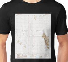 USGS TOPO Map Arizona AZ Aguila Mountains NW 310234 1990 24000 Unisex T-Shirt