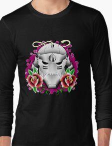 traditional alphonse elric helmet Long Sleeve T-Shirt