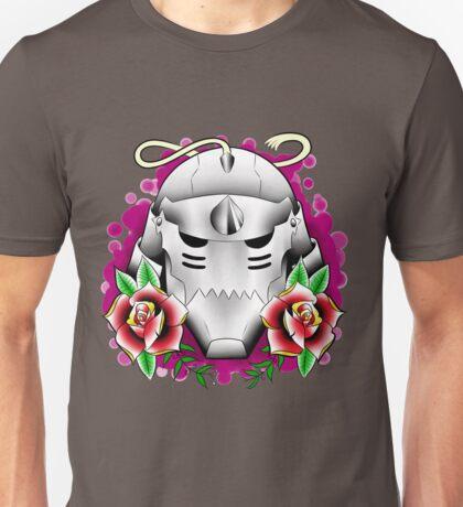 traditional alphonse elric helmet Unisex T-Shirt