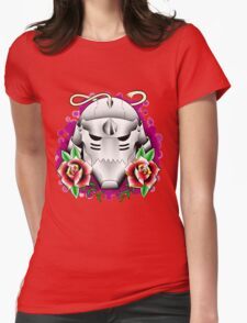 traditional alphonse elric helmet Womens Fitted T-Shirt