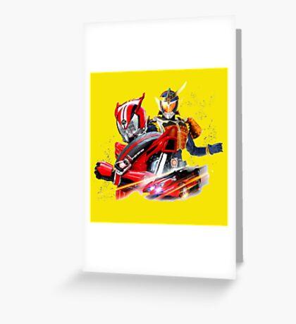kamen rider gaim Greeting Card