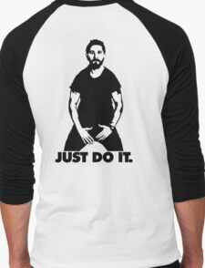 Shia Labeouf - just do it Men's Baseball ¾ T-Shirt