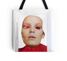 Secret Mask Face Collage ® Tote Bag