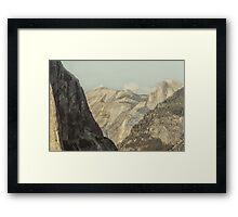 Half Dome VIII Framed Print
