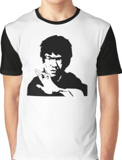 Bruce Lee Simple Graphic T-Shirt