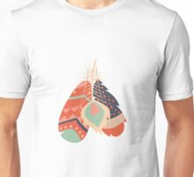 Tribal feather pattern 036 Unisex T-Shirt