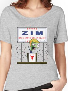 Zim - Make Earth Great Again! Women's Relaxed Fit T-Shirt