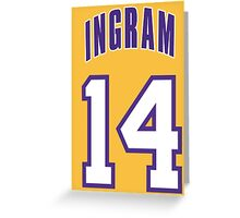 Brandon Ingram Greeting Card