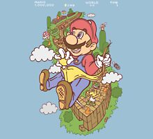Mario Eff's Up World 1-1 Unisex T-Shirt