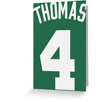 Isaiah Thomas Greeting Card
