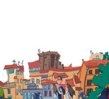 Street in Florence Sticker
