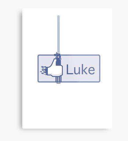 Luke  Metal Print