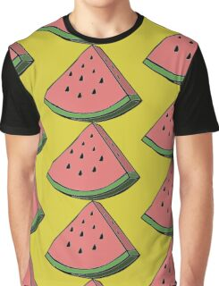 Pop Art Watermelon Graphic T-Shirt