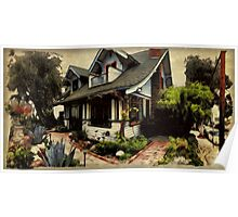 Charles Warren Brown House Poster