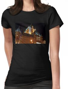 Fairmont Chateau Frontenac - Quebec 2008 Womens Fitted T-Shirt