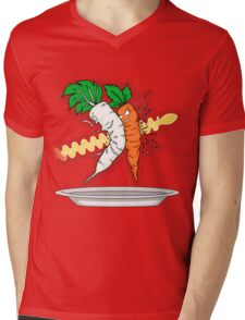 Makanko-salad!!! Mens V-Neck T-Shirt
