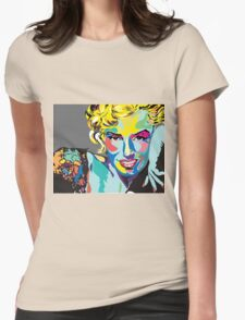 Marilyn Monroe - l'icône Womens Fitted T-Shirt