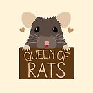 queen of rats by jazzydevil