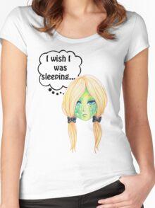 Sleepy Turtle Women's Fitted Scoop T-Shirt