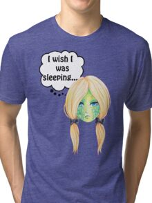Sleepy Turtle Tri-blend T-Shirt