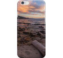 Dusk at Hidden Beach iPhone Case/Skin