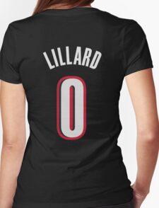 Damian Lillard Womens Fitted T-Shirt