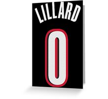 Damian Lillard Greeting Card