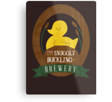 The Snuggly Duckling Brewery Metal Print