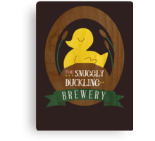 The Snuggly Duckling Brewery Canvas Print