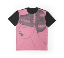 Lisette (Dark Pink) Graphic T-Shirt