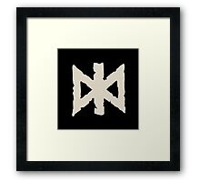 Undead Rune Collection Framed Print