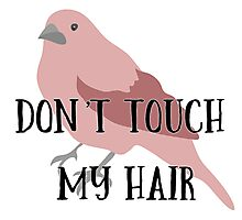 Don't Touch My Hair Photographic Print