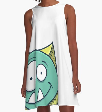 Zigouille, le monstre sympathique A-Line Dress