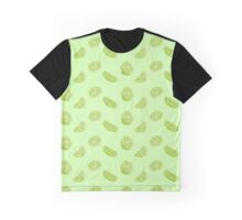 Lime Print Graphic T-Shirt