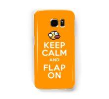 Keep Calm and Flap On Samsung Galaxy Case/Skin