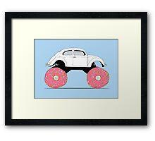 Trunkin' Donuts Framed Print