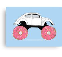 Trunkin' Donuts Canvas Print