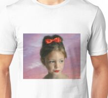 a beauty deep in thought Unisex T-Shirt