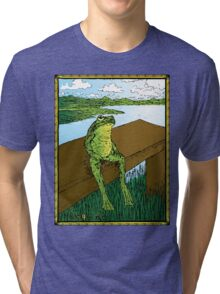 Frog Life Tri-blend T-Shirt