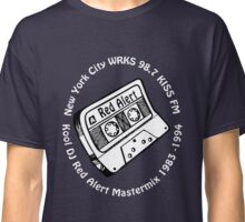 DJ Red Alert 98.7 Kiss FM Mix Tape [wht] Classic T-Shirt