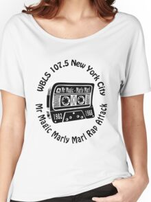 Marly Marl Rap Attack Old School Hip Hop  Women's Relaxed Fit T-Shirt