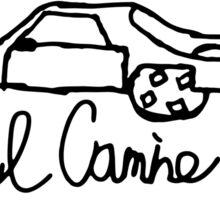 El Camino  Sticker